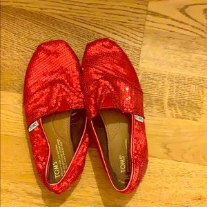 Sequined TOMS